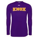 Under Armour Purple Long Sleeve Tech Tee-Knox