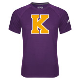 Adidas Climalite Purple Ultimate Performance Tee-K