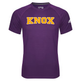 Adidas Climalite Purple Ultimate Performance Tee-Knox