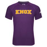 Adidas Climalite Purple Ultimate Performance Tee-Knox