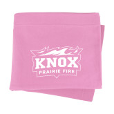Pink Sweatshirt Blanket-Prairie Fire Logo