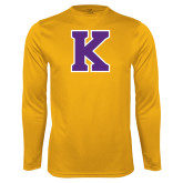 Performance Gold Longsleeve Shirt-K