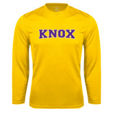 Syntrel Performance Gold Longsleeve Shirt-Knox