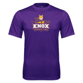 Syntrel Performance Gold Longsleeve Shirt-Knox Mascot Logo