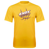 Syntrel Performance Gold Tee-Knox Basketball w/Ball