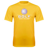 Syntrel Performance Gold Tee-Knox College Golf Stacked w/Ball