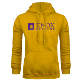 Gold Fleece Hoodie-Institutional Logo