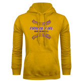 Gold Fleece Hoodie-Prairie Fire Baseball w/Seams