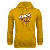 Gold Fleece Hoodie-Knox Basketball w/Ball