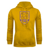 Gold Fleece Hoodie-Knox Soccer Shield