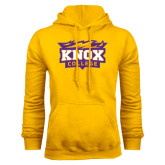 Gold Fleece Hood-Knox College Logo