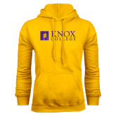 Gold Fleece Hood-Institutional Logo
