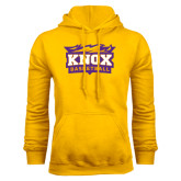Gold Fleece Hood-Basketball