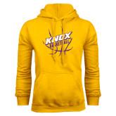 Gold Fleece Hood-Knox Basketball w/Ball