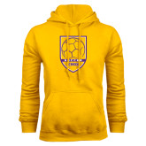 Gold Fleece Hood-Knox Soccer Shield