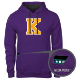 Contemporary Sofspun Purple Hoodie-K