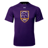 Under Armour Purple Tech Tee-Knox Soccer Shield