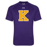 Under Armour Purple Tech Tee-K