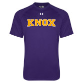 Under Armour Purple Tech Tee-Knox