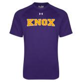 Under Armour Purple Tech Tee-Knox