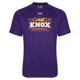 Under Armour Purple Tech Tee-Baseball