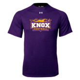 Under Armour Purple Tech Tee-Football