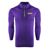 Under Armour Purple Tech 1/4 Zip Performance Shirt-Knox