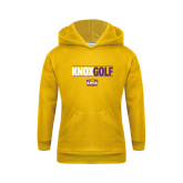 Youth Gold Fleece Hoodie-Knox Golf