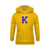 Youth Gold Fleece Hood-K