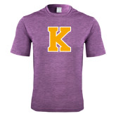 Performance Purple Heather Contender Tee-K