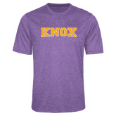 Performance Purple Heather Contender Tee-Knox