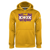 Under Armour Gold Performance Sweats Team Hoodie-Prairie Fire Logo