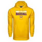 Under Armour Gold Performance Sweats Team Hood-Knox College Baseball Stacked