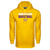 Under Armour Gold Performance Sweats Team Hood-Knox College Basketball Stacked