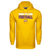 Under Armour Gold Performance Sweats Team Hood-Knox College Football Stacked