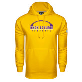 Under Armour Gold Performance Sweats Team Hood-Knox College Football Horizontal