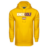 Under Armour Gold Performance Sweats Team Hood-Knox Golf