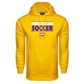Under Armour Gold Performance Sweats Team Hood-Knox College Soccer Stacked