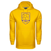 Under Armour Gold Performance Sweats Team Hood-Knox Soccer Shield