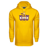 Under Armour Gold Performance Sweats Team Hood-Knox Mascot Logo
