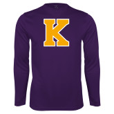 Performance Purple Longsleeve Shirt-K