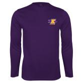 Performance Purple Longsleeve Shirt-K Club