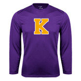 Syntrel Performance Purple Longsleeve Shirt-K