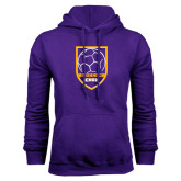 Purple Fleece Hood-Knox Soccer Shield