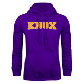 Purple Fleece Hoodie-Knox