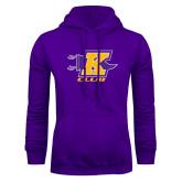 Purple Fleece Hoodie-K Club