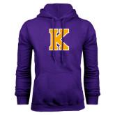 Purple Fleece Hood-K