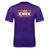 Syntrel Performance Purple Tee-Football