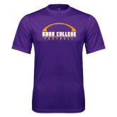 Syntrel Performance Purple Tee-Knox College Football Horizontal