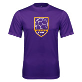 Syntrel Performance Purple Tee-Knox Soccer Shield